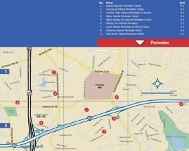 Perimeter hotel map