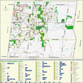 Aurora parks and trails map