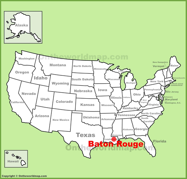 Baton Rouge Map Baton Rouge Maps | Louisiana, U.S. | Maps of Baton Rouge Baton Rouge Map