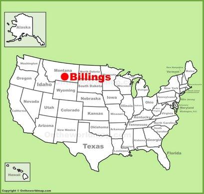 Billings Maps | Montana, U.S. | Maps of Billings