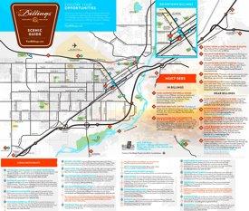 Billings sightseeing map