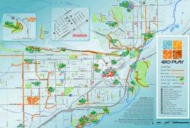 Billings tourist map