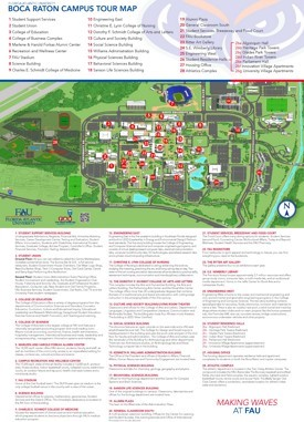 Boca Raton campus map