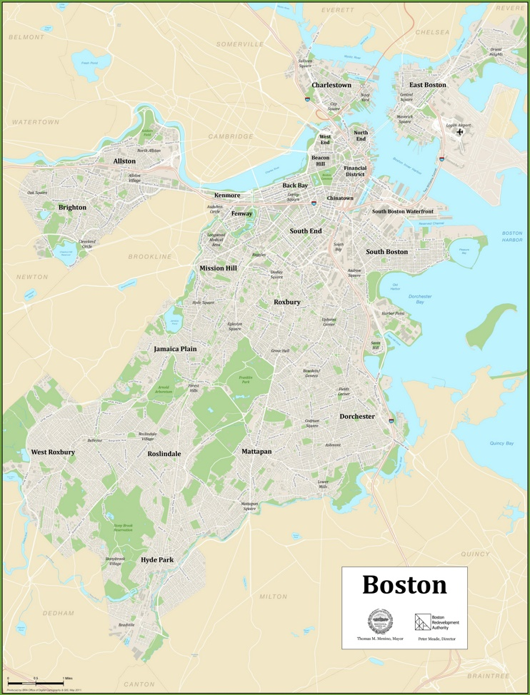 Boston squares map