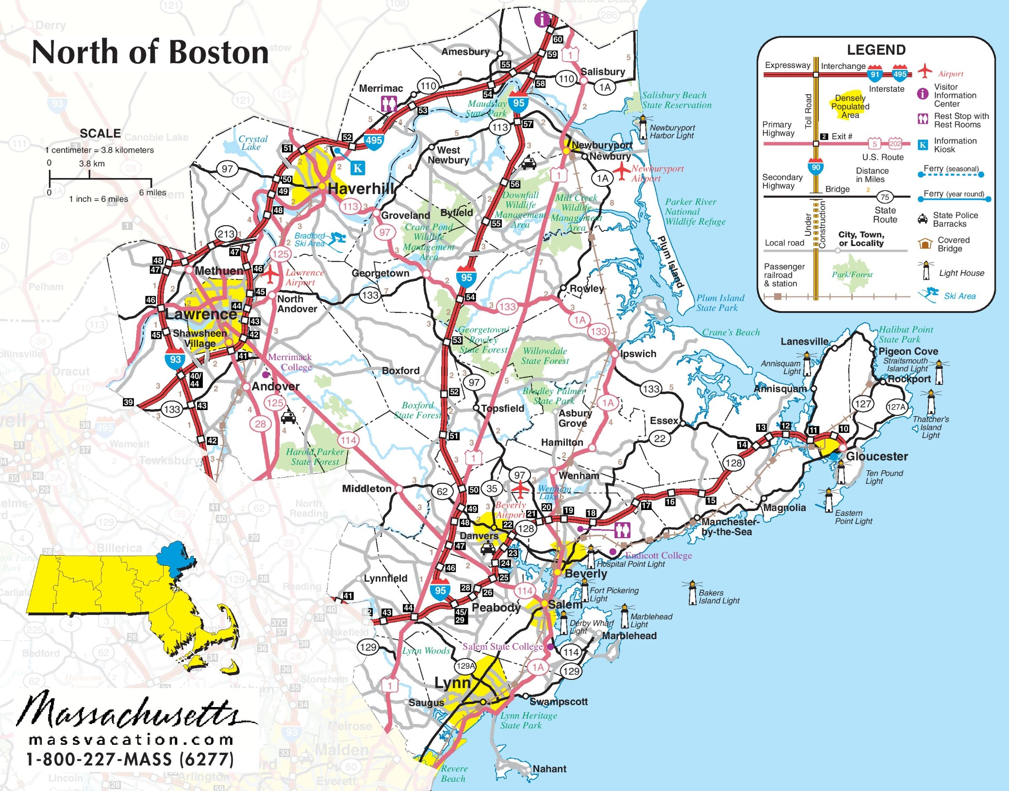 Boston Maps | Massachusetts, U.S. | Maps of Boston