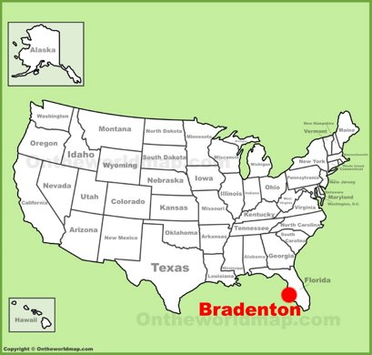 Bradenton Location Map