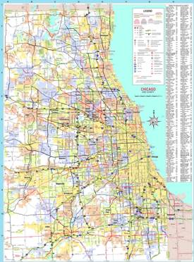 South suburbs of chicago map Best Chicago