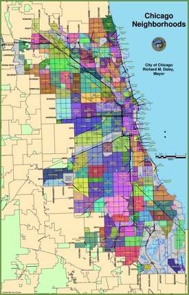 Chicago Maps | Illinois, U.S. | Maps of Chicago on