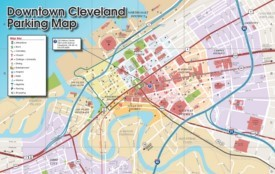 Cleveland parking map