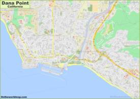 Detailed Map of Dana Point