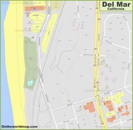 Del Mar City Center Map