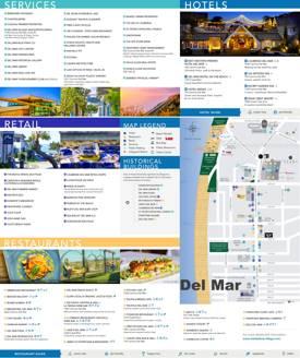 Del Mar Tourist Map