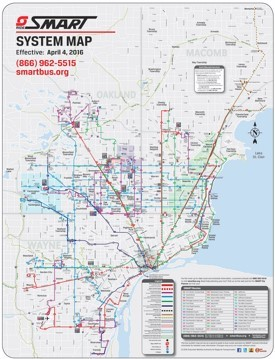 Detroit Maps Michigan US Maps of Detroit