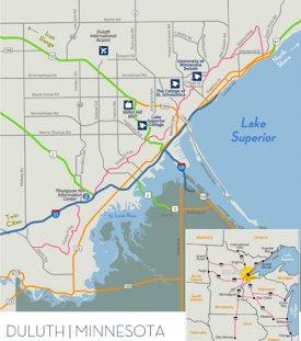 Duluth road map