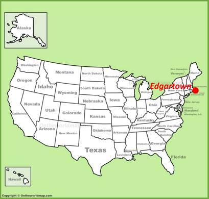 Edgartown Location Map