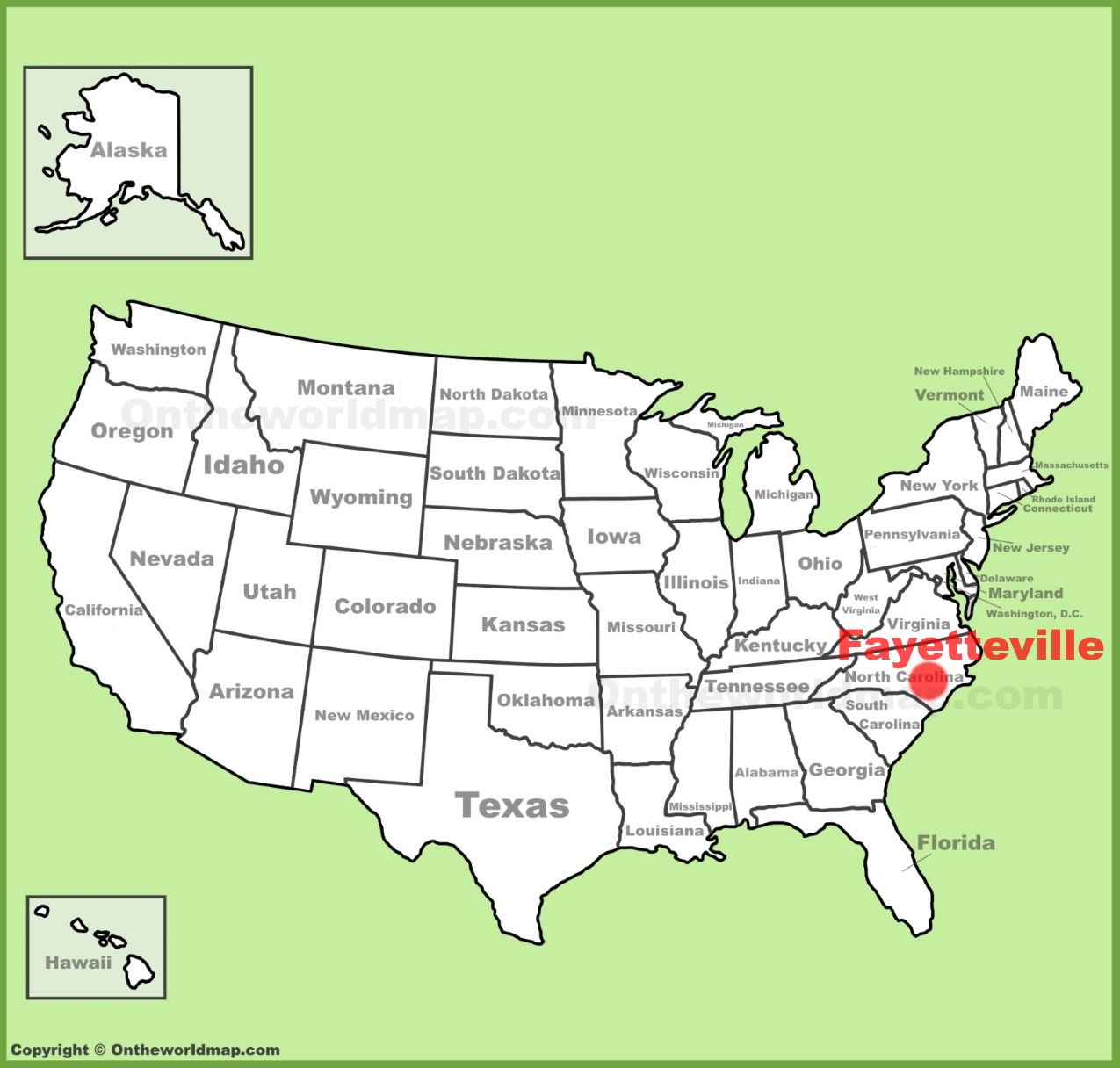 Fayetteville location on the U.S. Map on map of o'fallon, map of otto, map of cornelius, map of hazlehurst, map of west columbia, map of the hills, map of roan mtn, map of crittenden county, map of spring city, map of alexander county, map of hookerton, map of horseheads, map of stone county, map of lawrenceburg, map of girard, map of china grove, map of oak hill, map of pauls valley, map of graysville, map of roane county,