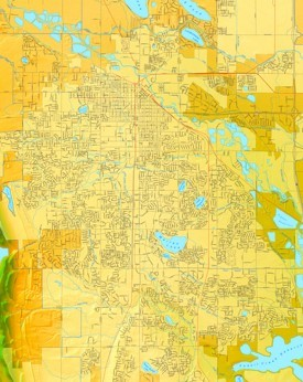 Fort Collins street map