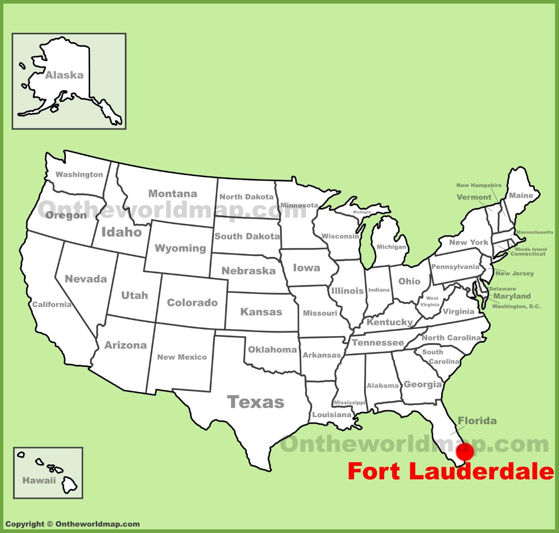 Fort Lauderdale Map Fort Lauderdale Maps | Florida, U.S. | Maps of Fort Lauderdale Fort Lauderdale Map