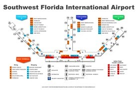 Southwest Florida International Airport map