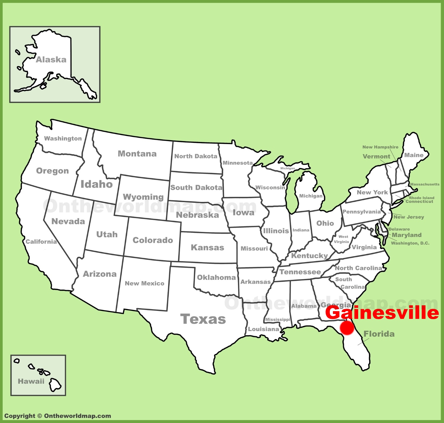 Gainesville location on the U.S. Map on st. petersburg-clearwater map, fort myers naples map, dallas co map, ocala fl map, winnsboro map, beckley map, alachua county fl zip code map, ladonia map, toccoa falls college map, san francisco intl airport map, hollins map, w palm beach map, city of mcdonough ga map, narcoossee map, forsyth map, south fort myers map, gainsville fl map, florida map, ferrum map, raytown map,