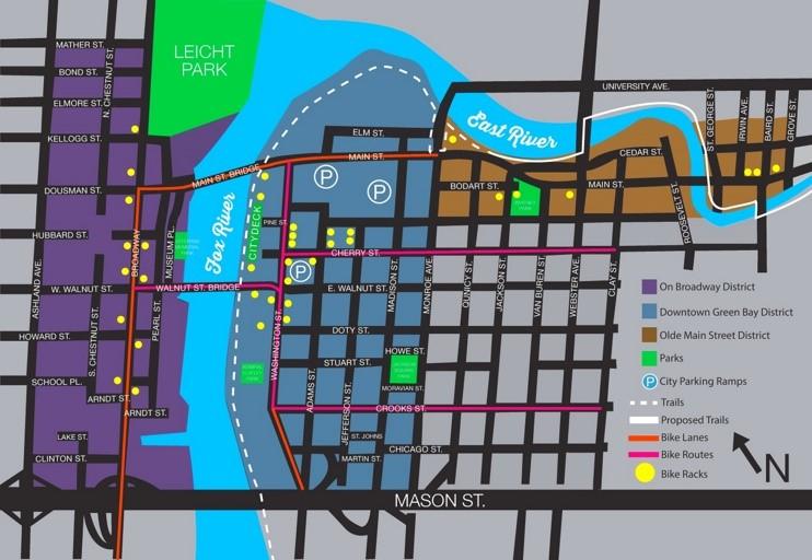 Bay bike map