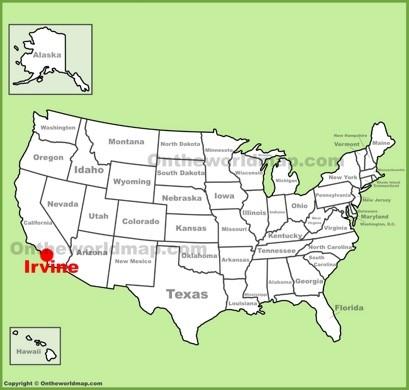 Irvine Maps | California, U.S. | Maps of Irvine
