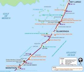 Islamorada area map