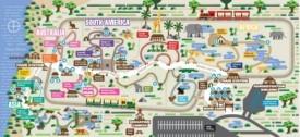 Jacksonville Zoo map