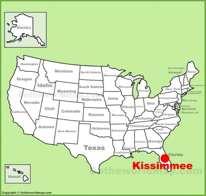 Kissimmee Location Map