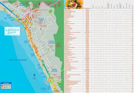 Laguna Beach Dining Map