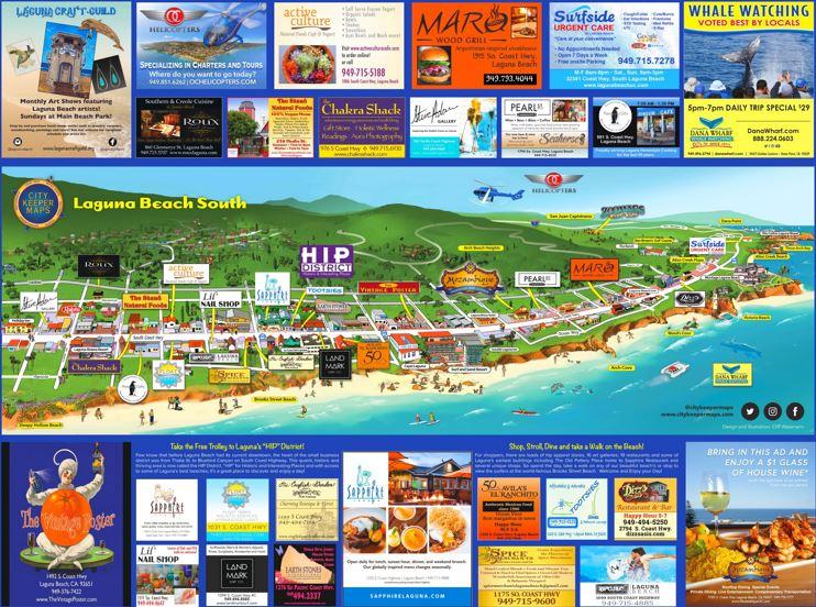 Laguna Beach South Map