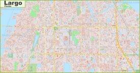 Large detailed map of Largo