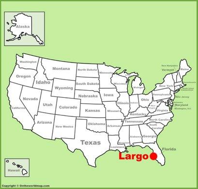 Largo Location Map