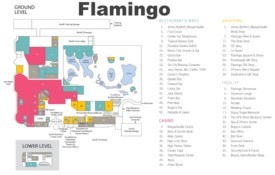 Las Vegas Flamingo hotel map