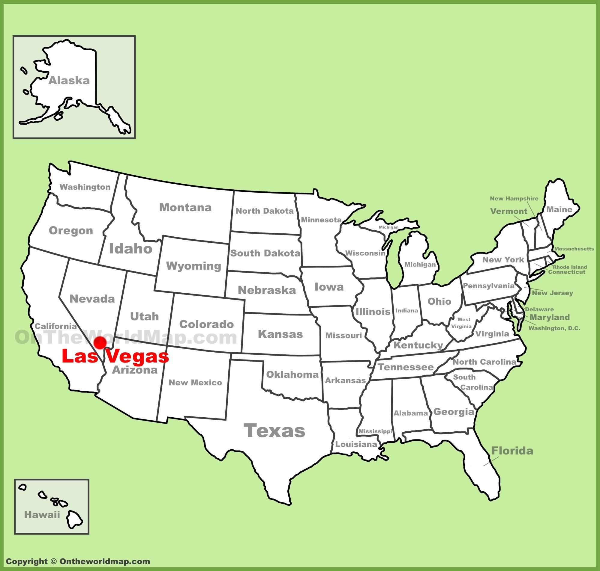 las vegas mapa Las Vegas Maps   U.S.   Maps of Las Vegas Strip las vegas mapa