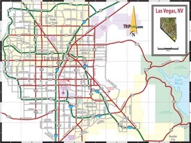 Las Vegas road map