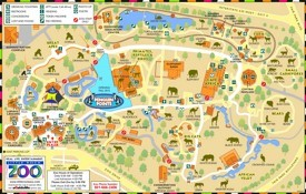 Little Rock Zoo Map