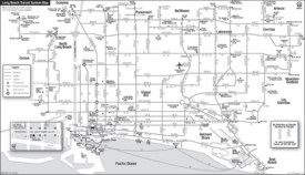 Long Beach transport map