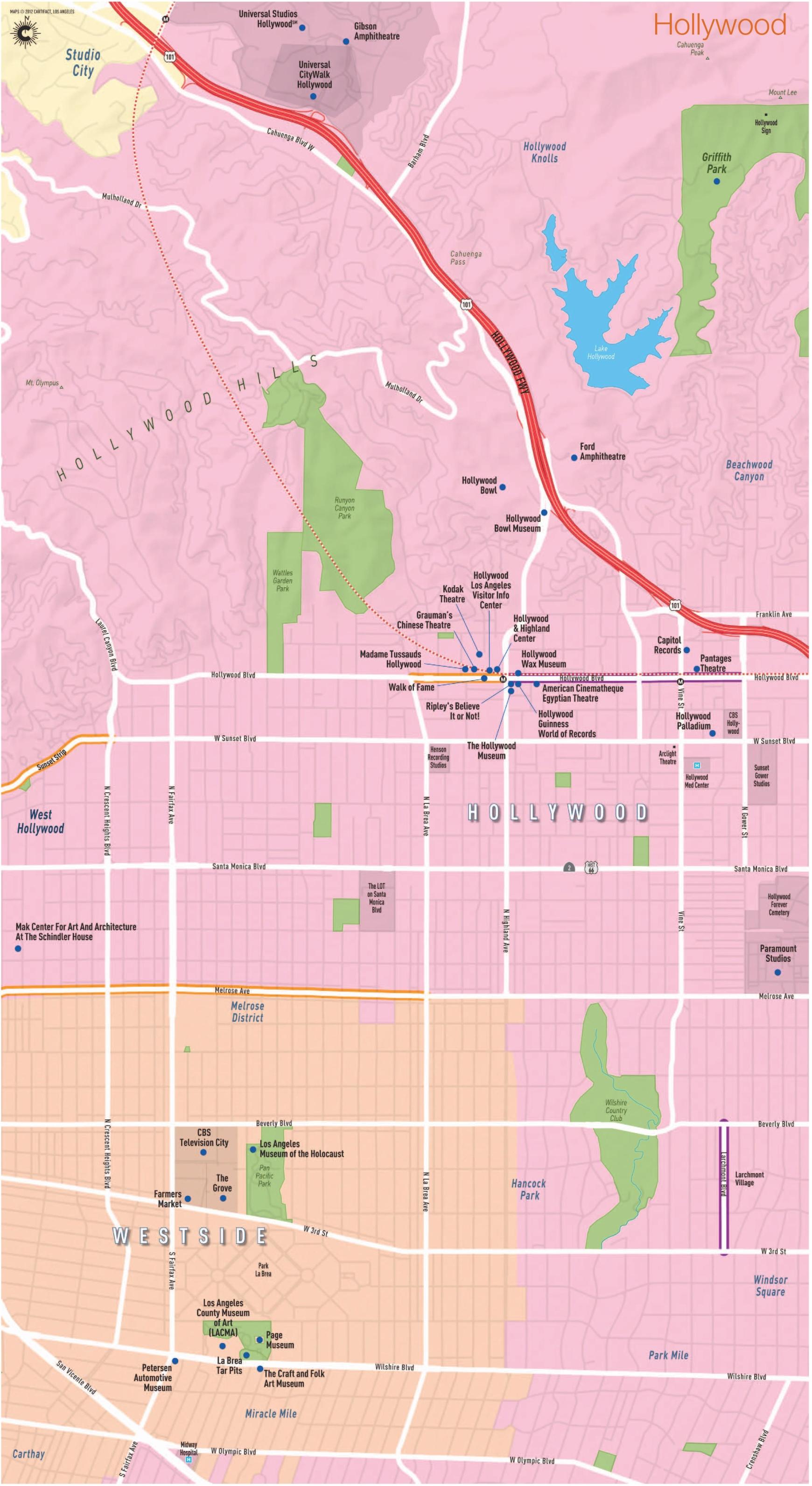 Map - LA Fashion District