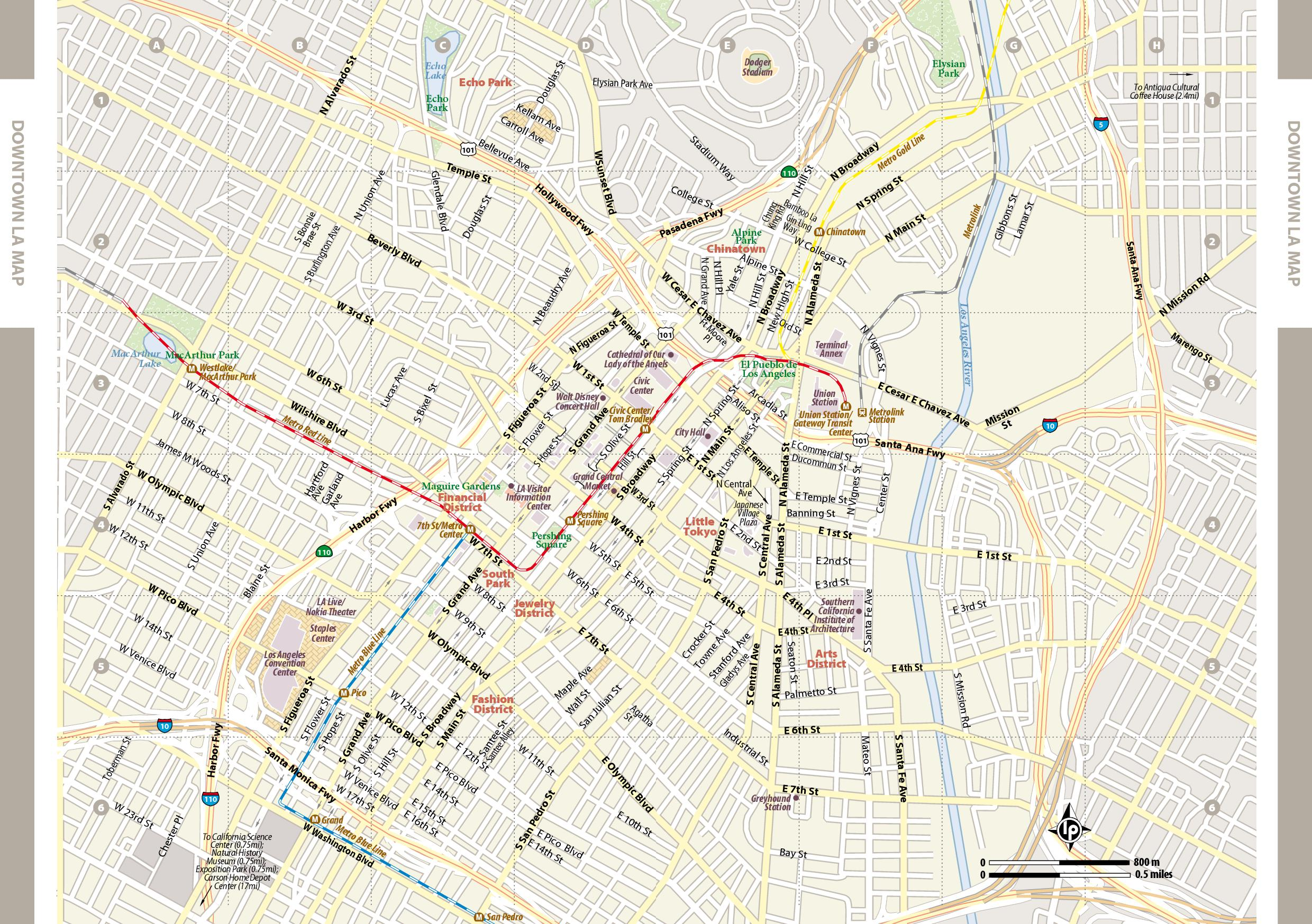 Los Angeles Maps California US Maps Of LA Los Angeles - Los angeles us map