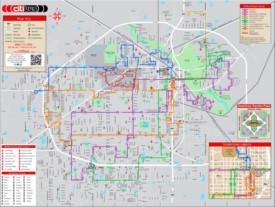 Lubbock bus map