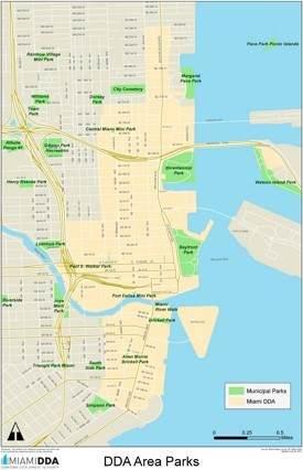 Miami parks map