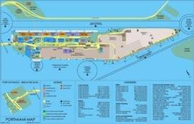 Port of Miami map