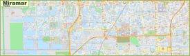 Large detailed map of Miramar