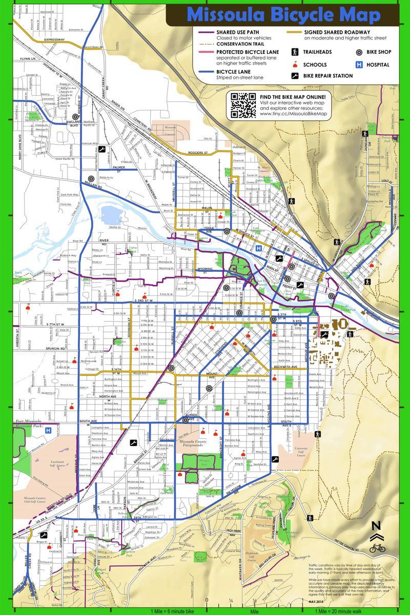 missoula bike map