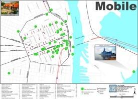 Mobile tourist map