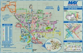 Modesto bus map