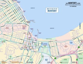 Monterey Maps California US Maps Of Monterey - Monterey on us map