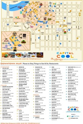 Montgomery tourist attractions map