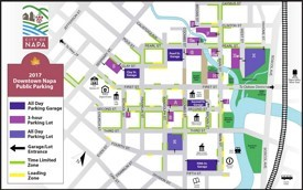 Napa parking map